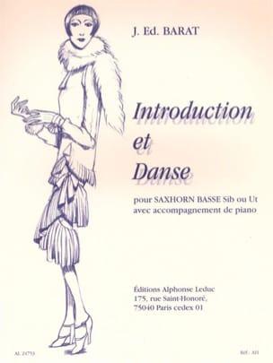 Introduction Et Danse Joseph Eduard Barat Partition laflutedepan