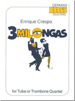 3 Milongas Enrique Crespo Partition Tuba - laflutedepan