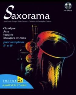 Saxorama Volume 2 A Partition Saxophone - laflutedepan