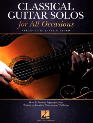 Classical Guitar Solos for All Occassions - laflutedepan.com