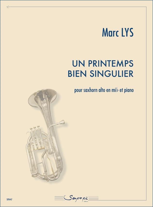 Un printemps bien singulier - Marc Lys - Partition - laflutedepan.com
