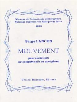 Mouvement Serge Lancen Partition Trompette - laflutedepan