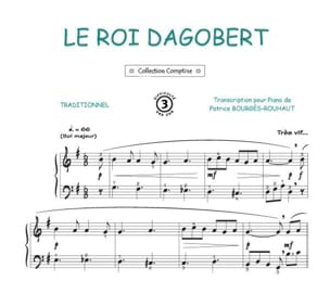 Le Roi Dagobert Traditionnel Partition laflutedepan