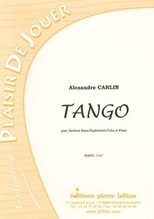 Tango Alexandre Carlin Partition Tuba - laflutedepan