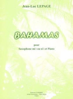 Bahamas Jean-Luc Lepage Partition Saxophone - laflutedepan