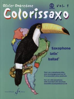 Colorissaxo - Volume 1 Olivier Ombredane Partition laflutedepan