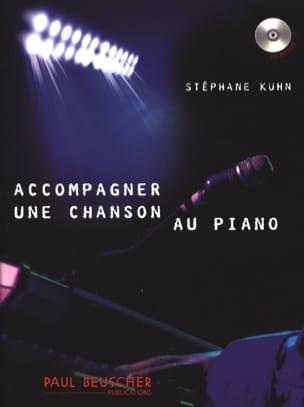 Accompagner une chanson au piano Stéphane Kuhn Partition laflutedepan