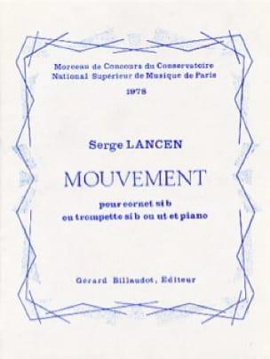 Mouvement - Serge Lancen - Partition - Trompette - laflutedepan.com