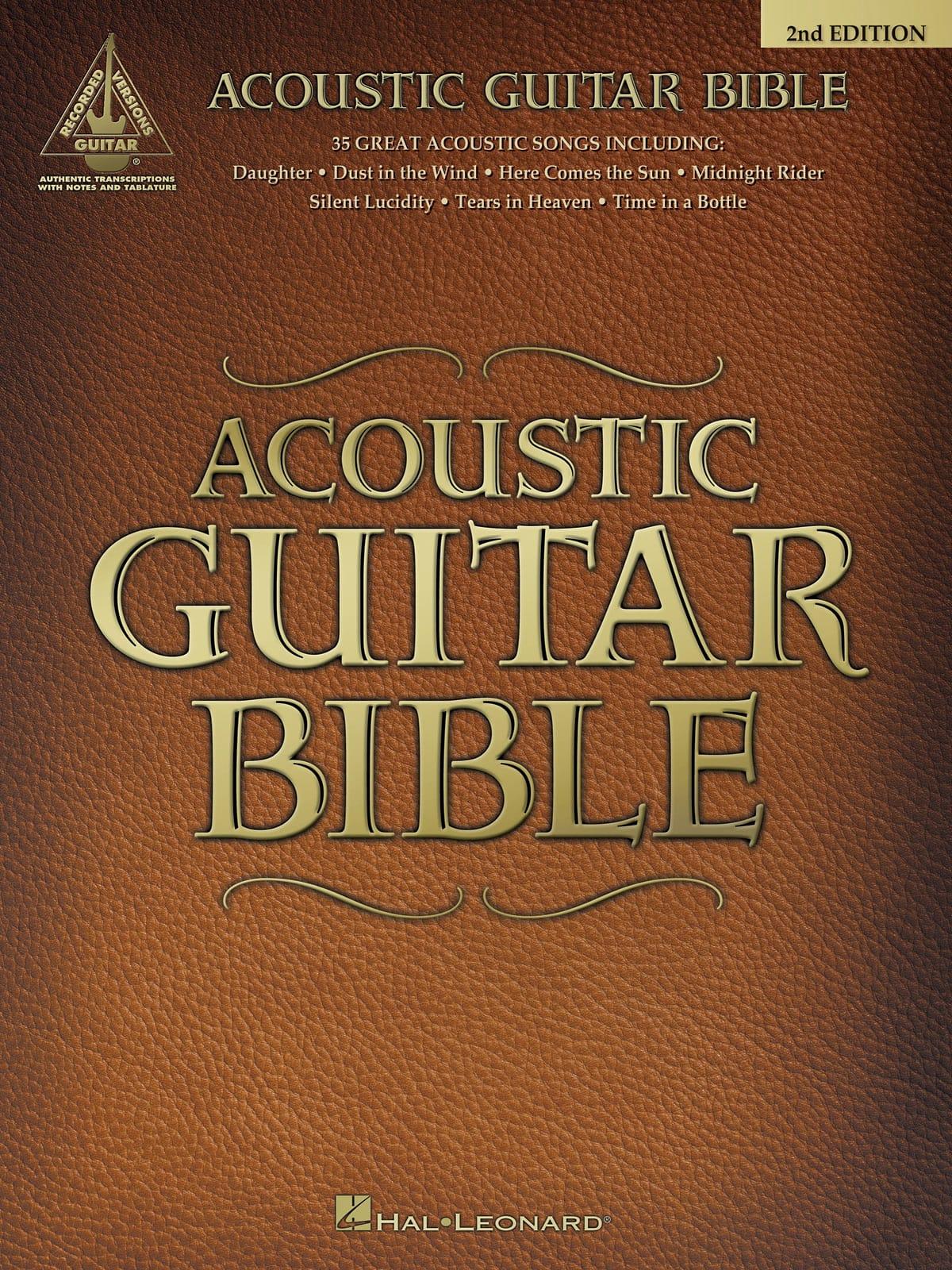 Acoustic Guitar Bible - 2nd Edition - Partition - laflutedepan.com