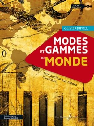 Olivier Ripoll - Modos y gamas del mundo - Introducción a los modos musicales - Partition - di-arezzo.es