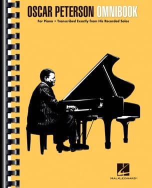Oscar Peterson - Omnibook Oscar Peterson Partition Jazz - laflutedepan
