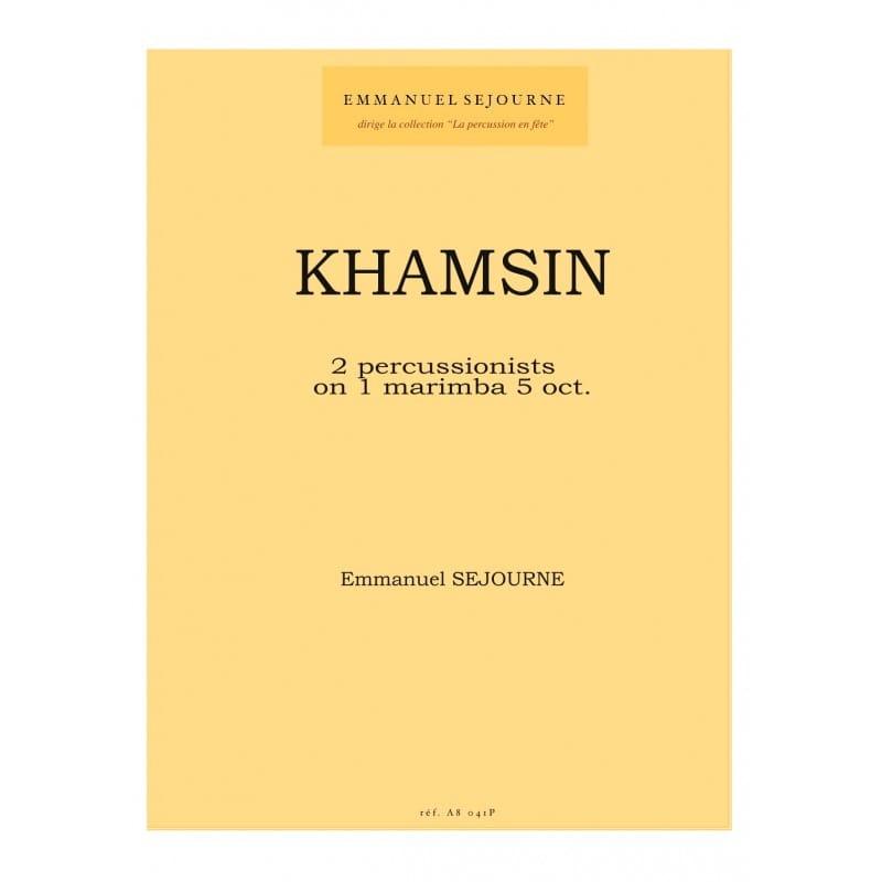 Khamsin - Emmanuel Séjourné - Partition - laflutedepan.com