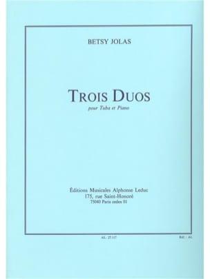 3 Duos Betsy Jolas Partition Tuba - laflutedepan
