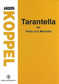 Tarantella Anders Koppel Partition Marimba - laflutedepan