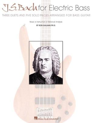 J.S Bach For Electric Bass BACH Partition Guitare - laflutedepan
