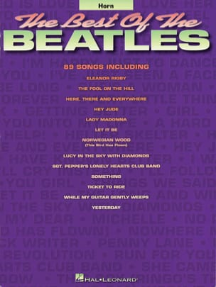 The best of the Beatles BEATLES Partition Cor - laflutedepan