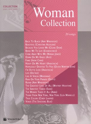 Woman Collection - Partition - Pop / Rock - laflutedepan.com