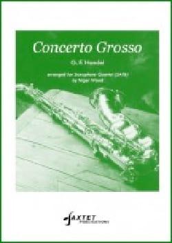 Concerto Grosso Opus 6 No. 4 HAENDEL Partition laflutedepan