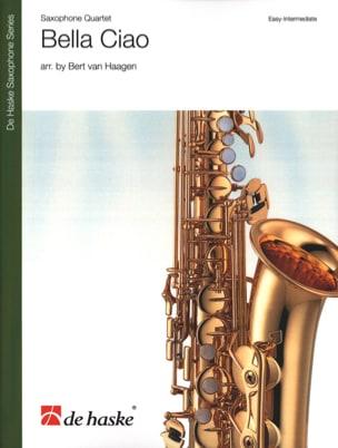 Bella Ciao - Quatuor de Saxophones Partition laflutedepan