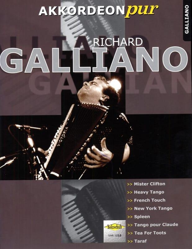 Akkordeon Pur - Richard Galliano - Richard Galliano - laflutedepan.com