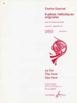 6 Pièces Mélodiques Originales Volume 3 GOUNOD Partition laflutedepan