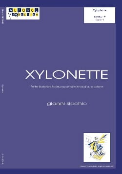 Xylonette Gianni Sicchio Partition Xylophone - laflutedepan
