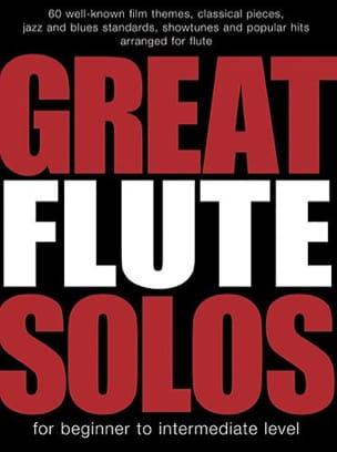 Great Flute Solos Partition Flûte traversière - laflutedepan