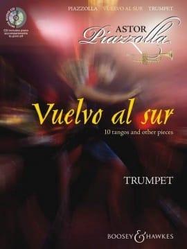 Vuelvo al sur Astor Piazzolla Partition Trompette - laflutedepan