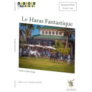 Le Haras Fantastique Fabien Gitteau Partition laflutedepan