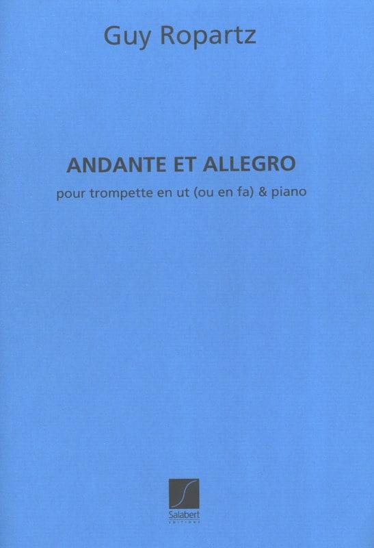 Andante et Allegro version ut ou fa - laflutedepan.com