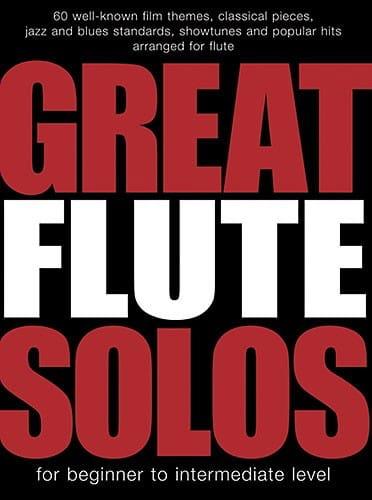 Great Flute Solos - Partition - laflutedepan.com