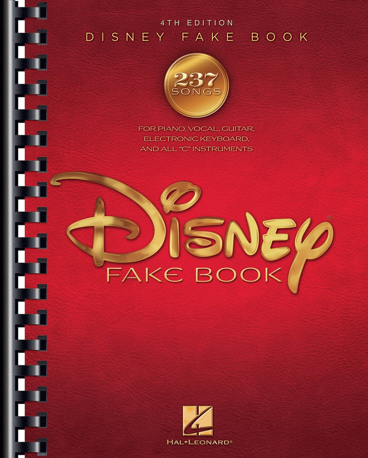 The Disney Fake Book - 4th Edition - DISNEY - laflutedepan.com