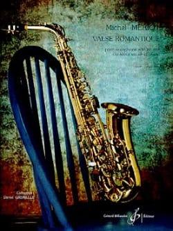 Valse Romantique Michel Mériot Partition Saxophone - laflutedepan