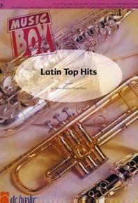 Latin top hits - music box Partition ENSEMBLES - laflutedepan