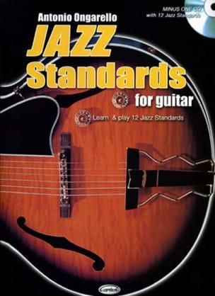 Jazz Standards For Guitar Antonio Ongarello Partition laflutedepan