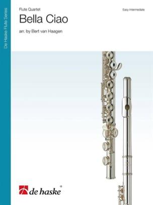 Bella Ciao - Quatuor de Flutes Partition laflutedepan