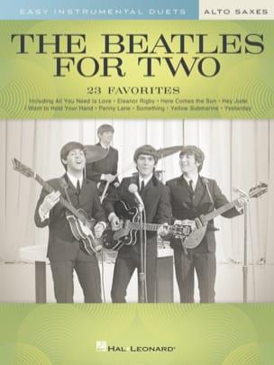 The Beatles for Two Alto Saxes Beatles Partition laflutedepan