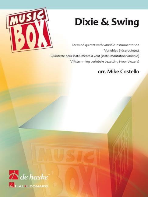 Dixie & swing - music box - Partition - laflutedepan.com