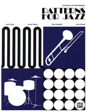 Patterns For Jazz - Bass Clef - laflutedepan.com