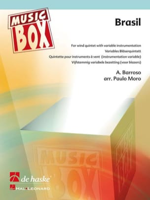 Brasil - music box Ary Barroso Partition ENSEMBLES - laflutedepan