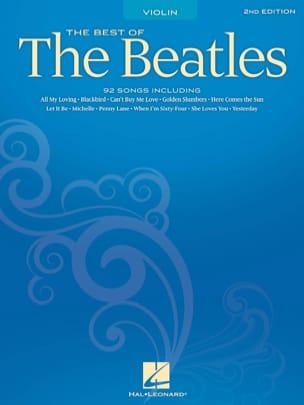 Best Of Beatles For Violin BEATLES Partition Violon - laflutedepan