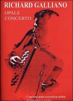 Opale Concerto Richard Galliano Partition Accordéon - laflutedepan