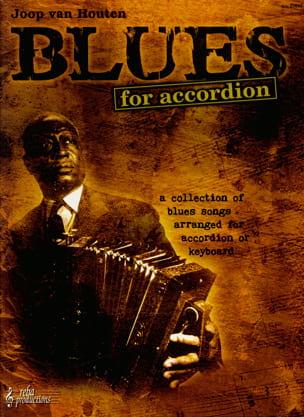 Blues For Accordion Houten Joop Van Partition Accordéon - laflutedepan