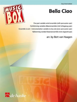 Bella Ciao - Music Box Partition ENSEMBLES - laflutedepan