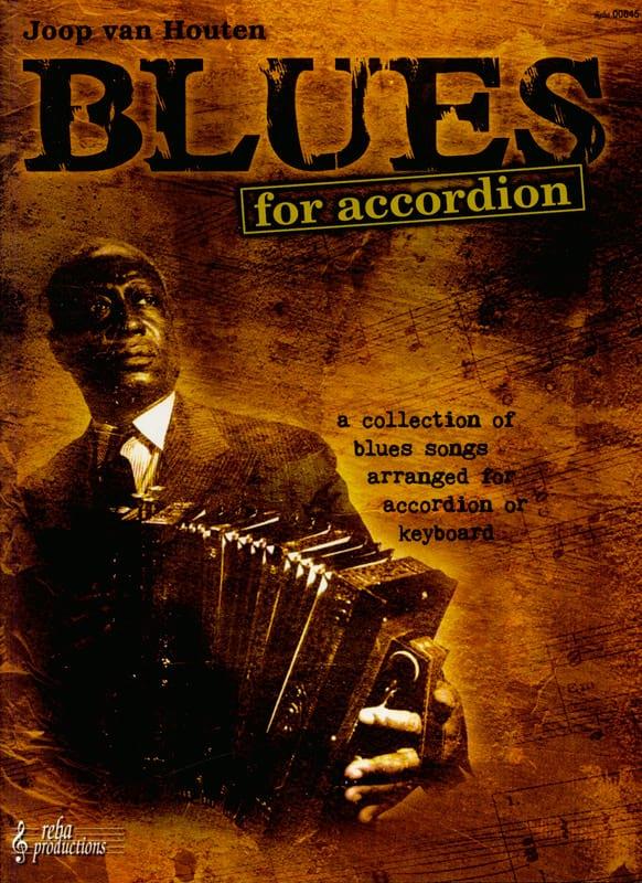 Blues For Accordion - Houten Joop Van - Partition - laflutedepan.com