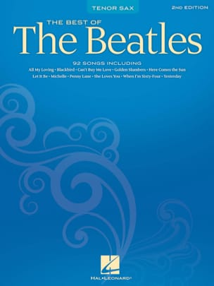 Best Of The Beatles BEATLES Partition Saxophone - laflutedepan