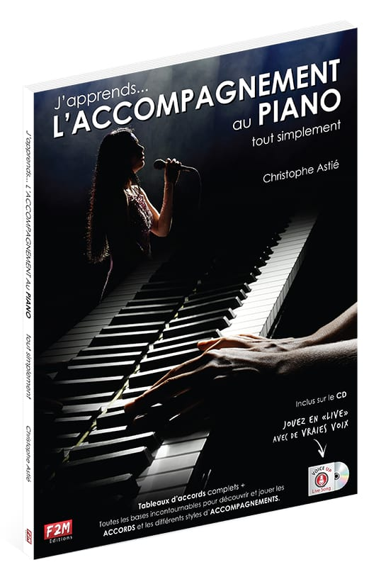 J'apprends... L'ACCOMPAGNEMENT AU PIANO tout simplement - laflutedepan.com