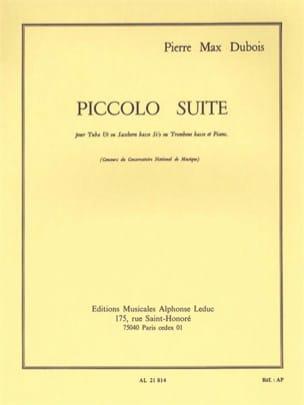 Piccolo Suite Pierre-Max Dubois Partition Tuba - laflutedepan