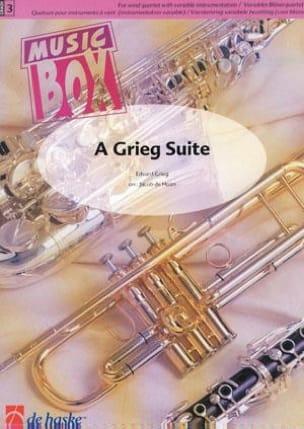 A grieg suite - music box GRIEG Partition ENSEMBLES - laflutedepan