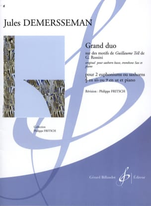 Grand Duo Sur Des Motifs de Guillaume Tell de G. Rossini laflutedepan